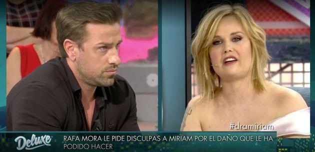 Rafa Mora y Miriam Sánchez en 'Sábado