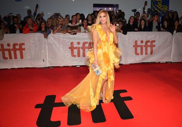 Jennifer Lopez avait l'accessoire parfait pour la première de