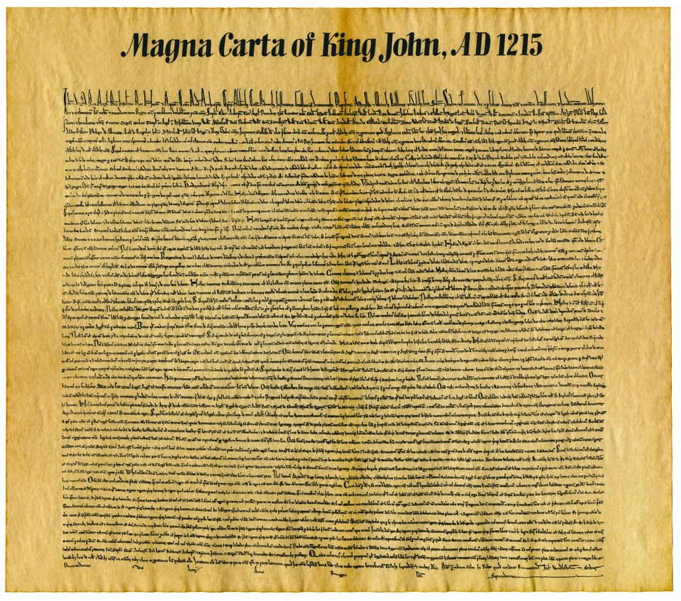 Magna Carta or Magna Carta Libertatum, is an English legal charter that required King John of England...