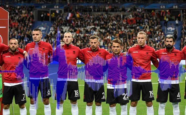 Les organisateurs ont une explication pour de l'erreur d'hymne durant France -Albanie au Stade de France...