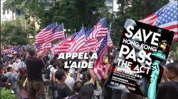 Des milliers de Hongkongais demandent aux États-Unis de les
