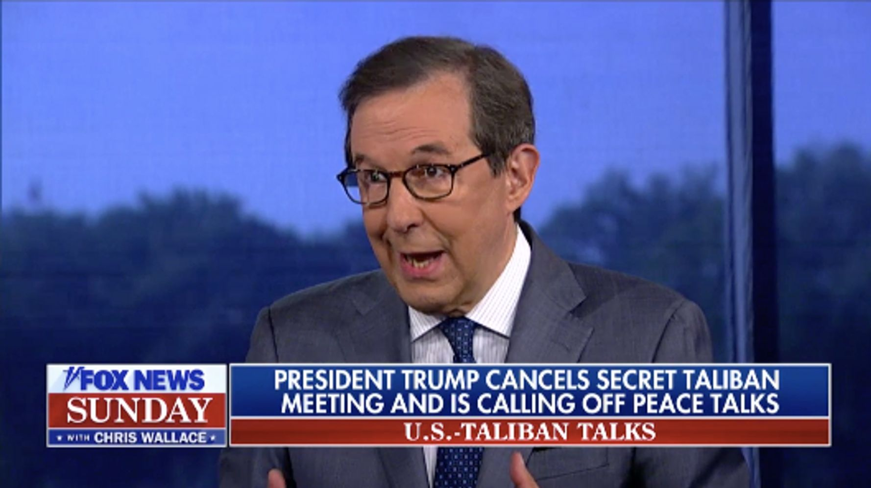 Westlake Legal Group 5d752a633b00002b88d0c228 Chris Wallace Grills Pompeo On Taliban Invite: 'Who Thought It Was A Good Idea?'