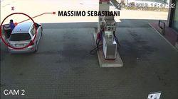 Le prime immagini di Massimo Sebastiani dopo aver ucciso Elena Pomarelli