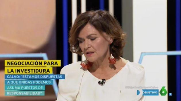 Carmen Calvo en 'El