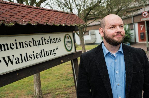 Stefan Jagsch, élu du parti néo-nazi NPD, a remporté des élections locales...