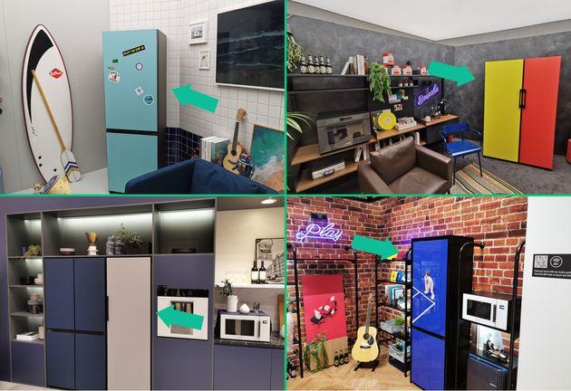 Les réfrigérateurs Samsung de la gamme