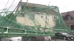 Un mort et une trentaine de blessés après le passage du typhon Faxai à