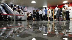 台風15号が関東通過。首都圏でJRや私鉄の運転見合わせが続く
