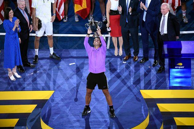 Rafael Nadal remporte l'US Open pour la quatrième fois ce 8 septembre
