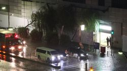 【台風15号】千葉で送電用の鉄塔傾く。強風の影響か、数十万戸停電