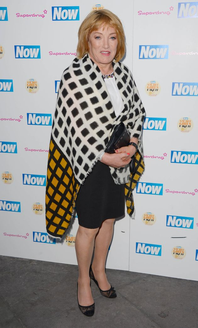 Kellie at a Now magazine event in