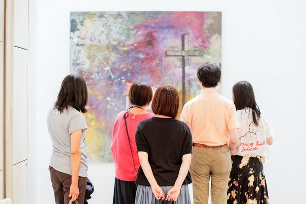 水戸芸術館で、『大竹伸朗 ビル景