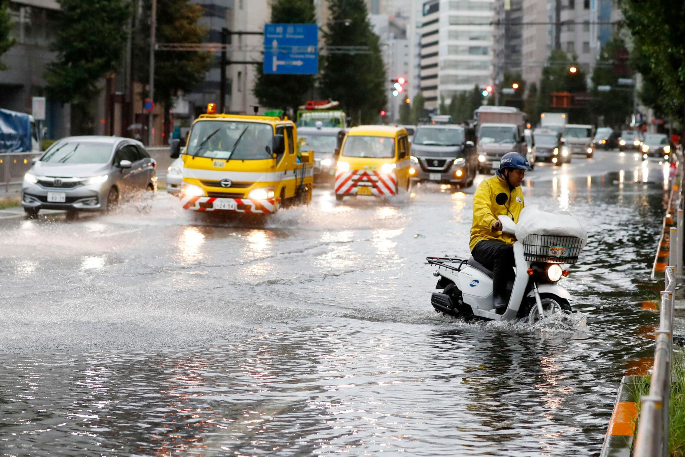 Powerful Typhoon Faxai Batters Tokyo, Killing At Least 1
