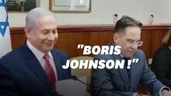 Benjamin Netanyahu confond Boris Johnson et Boris