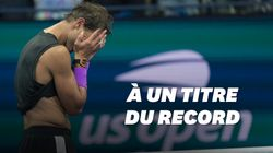 Les larmes de Nadal, ovationné par le public de l'US Open pour son 19e Grand