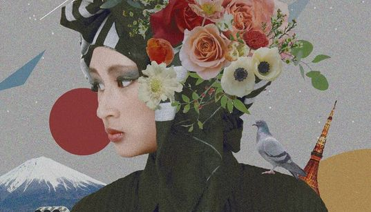 東京の街で「ヒジャブ」の彼女がクリエーターとして生きる理由