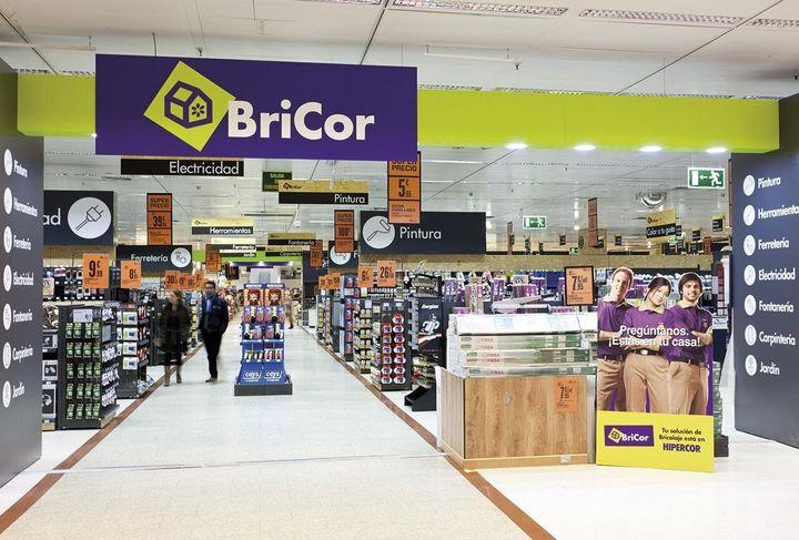 Una tienda de Bricor