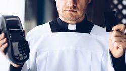 Vuoi fare offerta in chiesa ma non hai spicci? Ora puoi farlo col