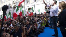 Salvini e Meloni guidano la protesta contro il Conte-bis: