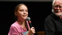 Greta Thunberg à Montréal le 27