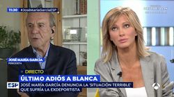 José María García arremete contra LaSexta en 'Espejo Público' y Susanna Griso responde