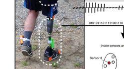 Cette prothèse permettrait de sentir sa jambe et de diminuer les douleurs