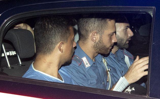 Andrea Varriale, il carabiniere ferito, lascia il nucleo investigativo di via in Selci a Roma - 27 luglio