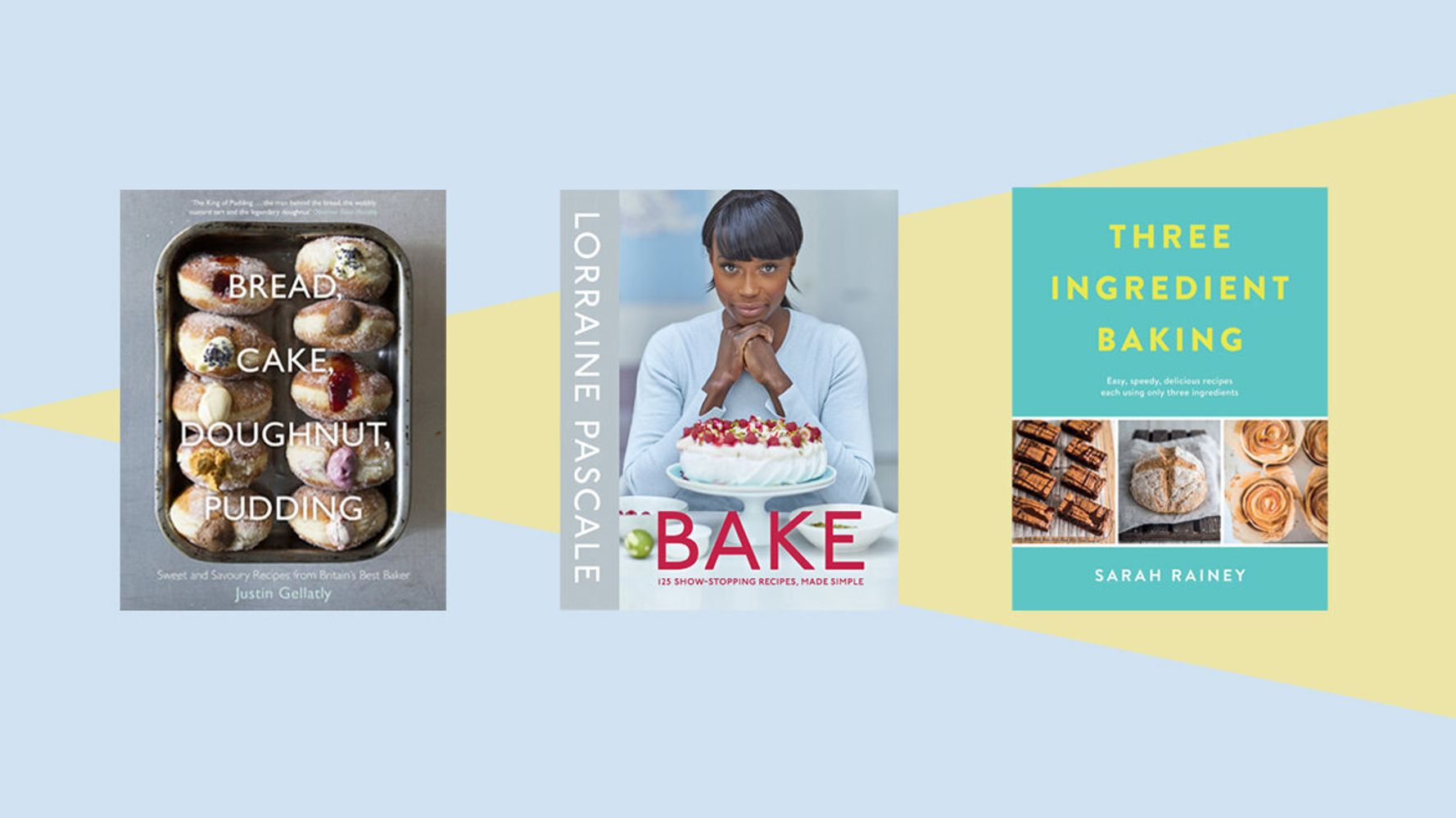 Inspired By Bake Off? 5 Baking Cookbooks For Total Novices