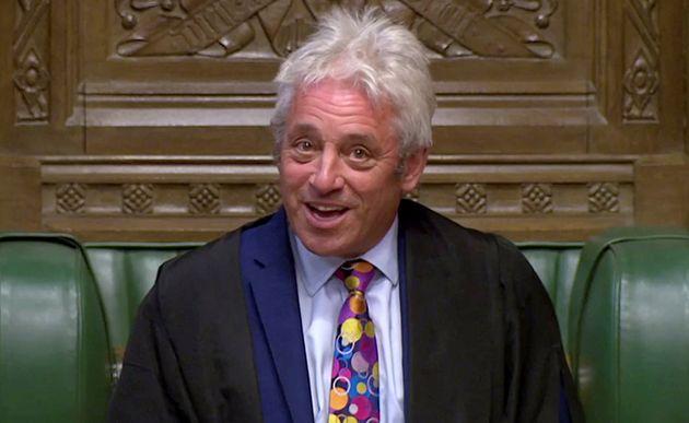 John Bercow au Parlement à Londres ce 9 septembre