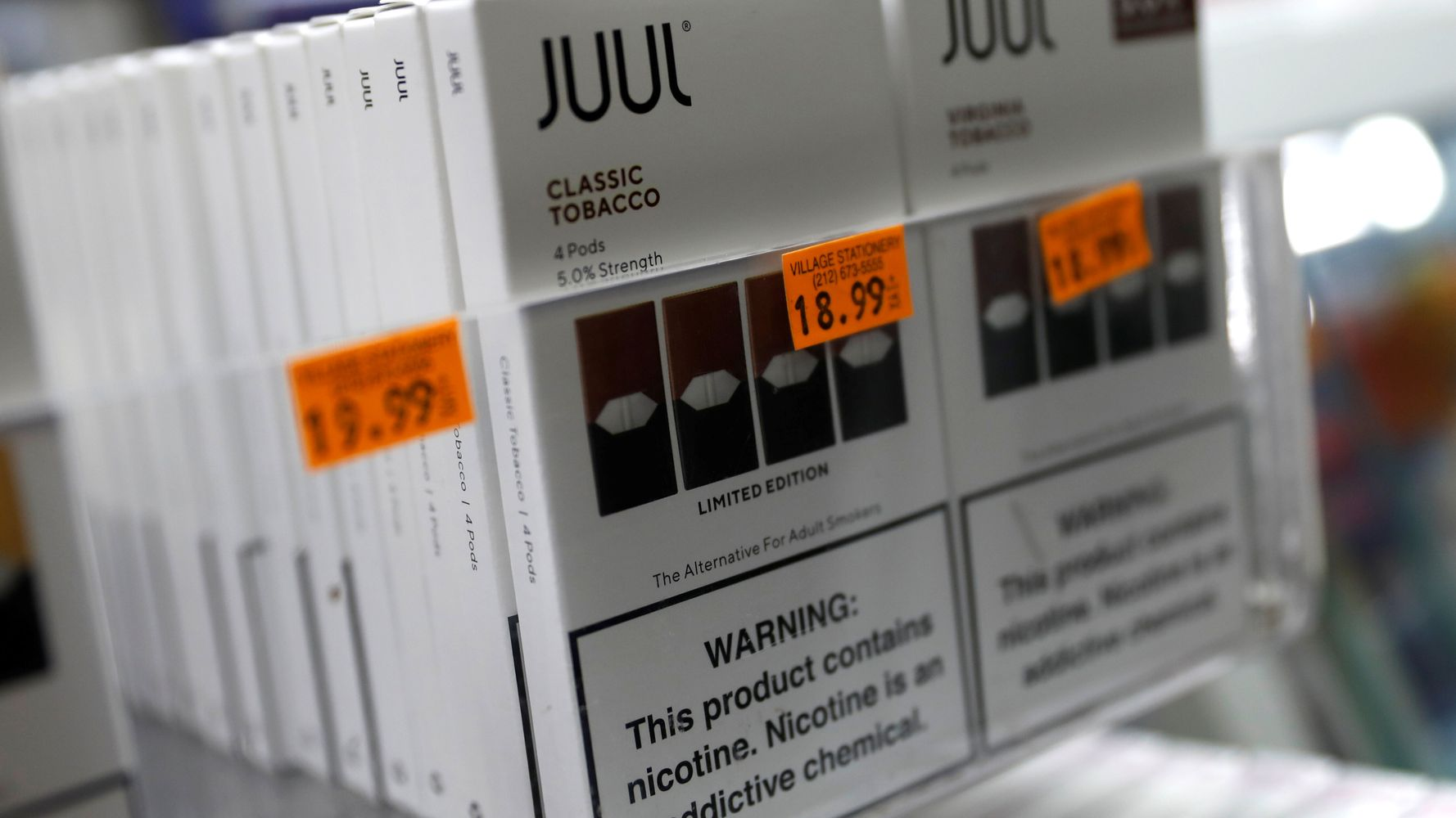 Juul Violated Federal Rules By Labeling E-Cigs As Safer Than