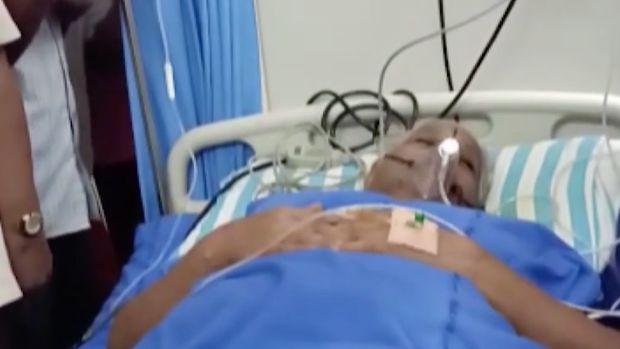 Mangayamma Yaramati,74, gave birth to twins.