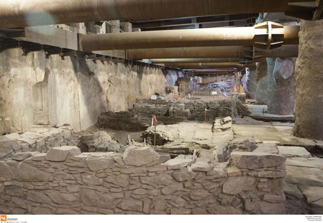 Αρχαία Μετρό Θεσσαλονίκης