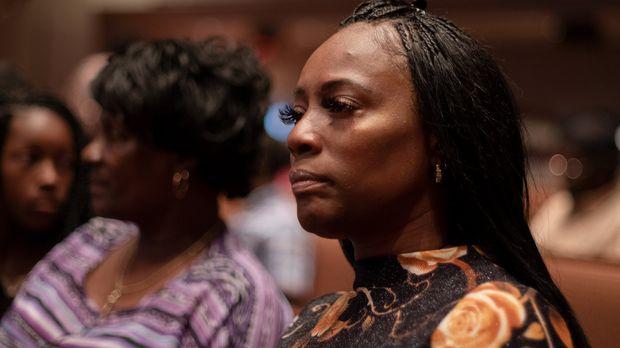 Crystal Mason attends church on September 9, 2019 in Dallas, Texas