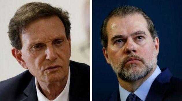 Crivella apresentou ação contestando decisão do presidente do STF que barrou recolhimento...