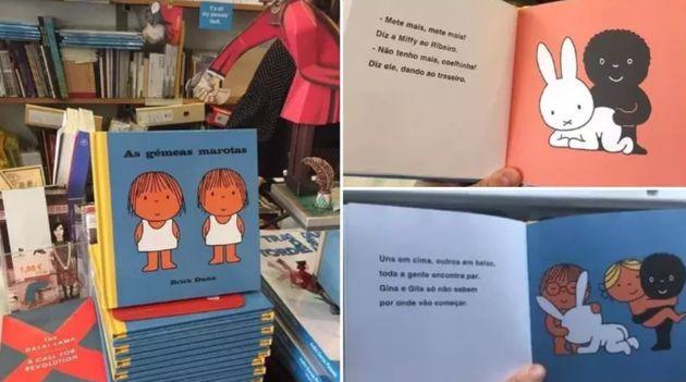 Imagem de livro que circula nas redes sociais é português e foi exposto em uma feira do...