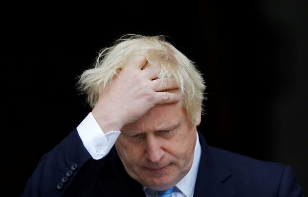 Boris Johnson, ici ce 9 septembre à Dublin, a de nouveau échouéà obtenir...