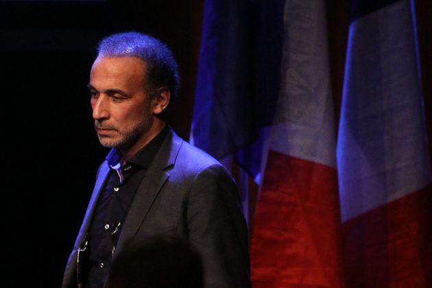 Tariq Ramadan, ici lors d'une conférence à Lille en février 2016, doit sortir mercredi...