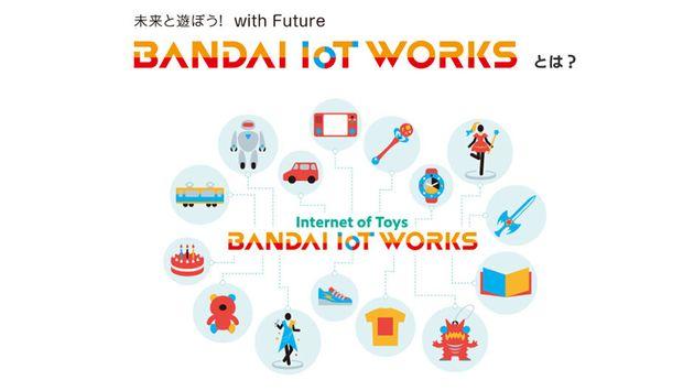 2018年11月、新ブランド「BANDAI IoT