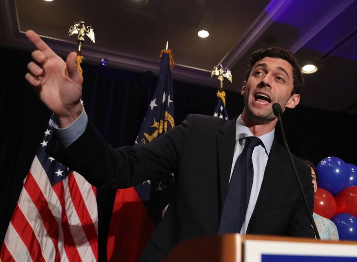 Democrat Jon Ossoff delivered a concession speech in Atlanta after returns showed him losing the special election for Georgia