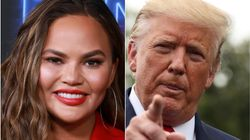 Here's How Chrissy Teigen's Filthy Trump Nickname Found A Way To Trend On