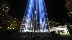 '9/11' 추모의 빔 라이트는 16만 철새들을 위험에