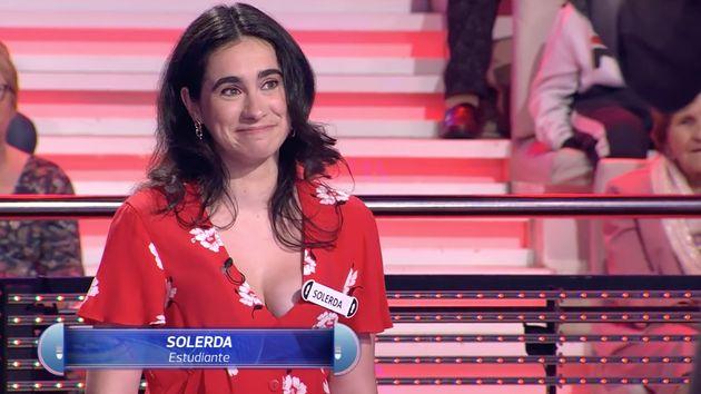 Andrea Soler, concursante de 'Ahora Caigo' el 9 de septiembre de