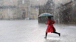 Once comunidades en alerta por lluvia, viento y tormentas ante la gota
