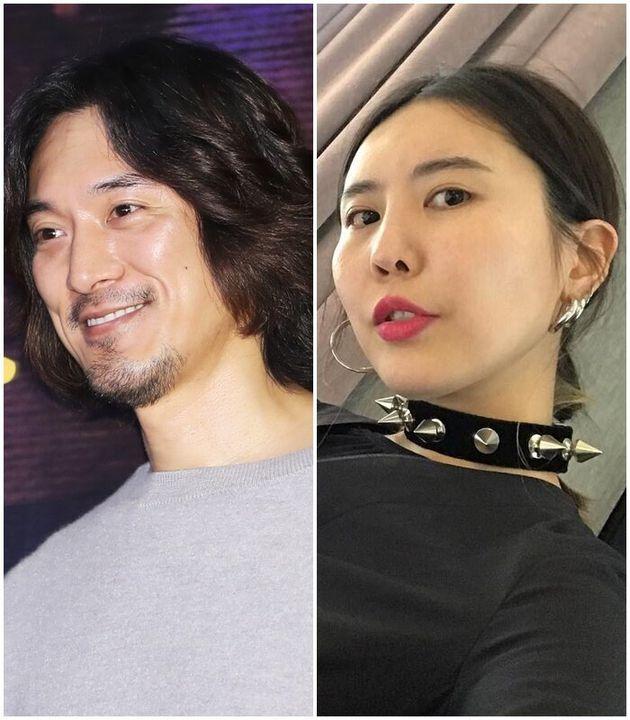 배우 김민준과 사업가