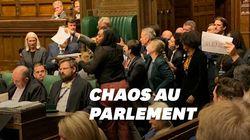 La suspension du Parlement britannique a donné lieu à des scènes