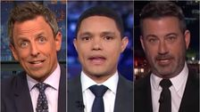 Late-Night-Hosts Fackel Trumpf: Von Teigen Rindfleisch Auf Gemischtem Taliban-Treffen