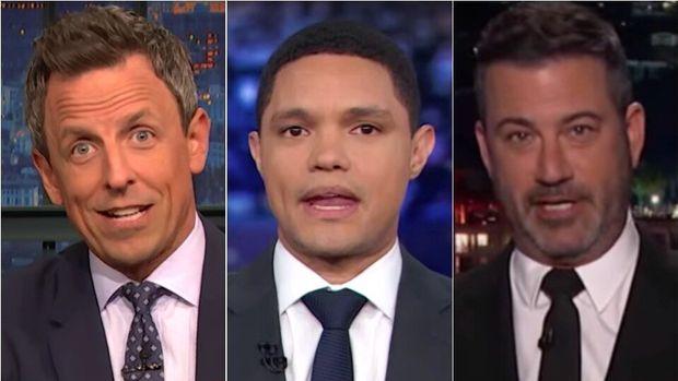 Late night TV hosts