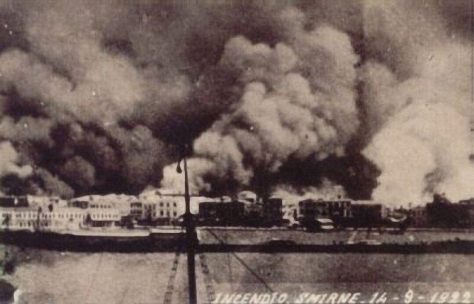 Η καταστροφή της Σμύρνης...