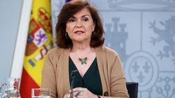 Carmen Calvo 'calienta' la segunda reunión con Echenique reiterando su