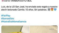 La conmovedora carta de un futbolista de 10 años al rival que